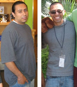 Coach Julio Before and After