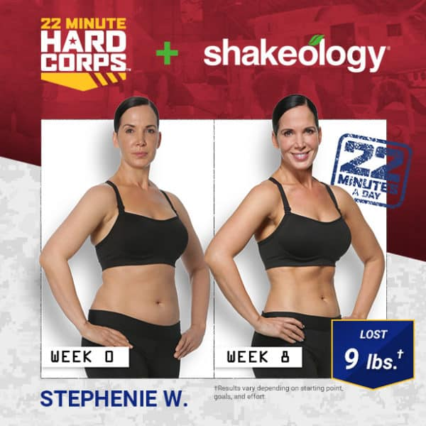 Stephenie W. Lost 9 LBS & Loves the Change of Pace!