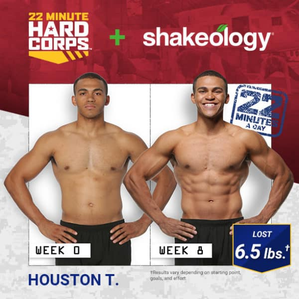 Houston T. Lost 6.5 LBS with 22 MHC & Shakeology