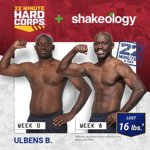 Ulbens Lost 16 LBS with 22 MHC & Shakeology