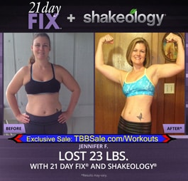 21 Day Fix & Shakeology Completely Changed Jennifer's Life!