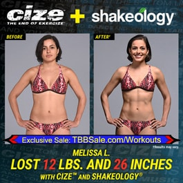 Melissa Says There's NOTHING Like CIZE On The Market!