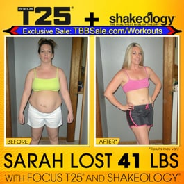 Sarah Felt Fat, Ugly, Sluggish, Depressed, & Hated How She Looked. Not Any More!