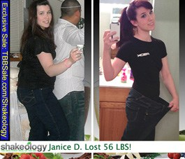 Shakeology Helped Me Lose 56 Pounds!