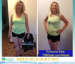 Karen Now Knows That Energy Comes from Foods, Not Stimulants!