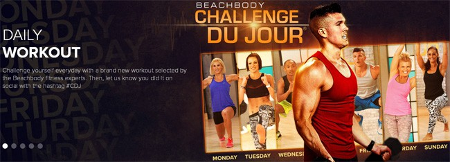 Beachbody on Demand Challenge Du Jour