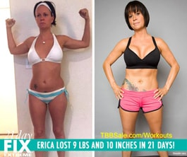 Erica Was Looking To Push Herself To Her Limits!