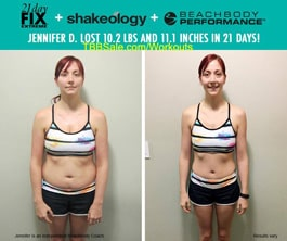Before 21 Day Fix EXTREME, Nothing Worked For Jennifer!