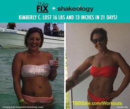 Kimberly Lost Weight and Inches FAST!