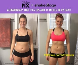 Alexandria Ditched the Gym to Get REAL Results with 21 Day Fix