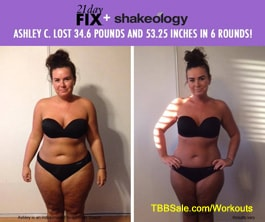 Ashley Got Ready For Her Wedding with the 21 Day Fix System