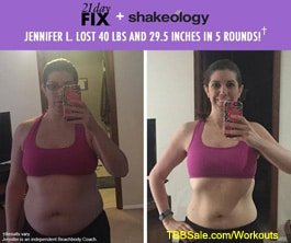 Jennifer Found the 21 Day Fix Easy To Follow