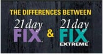 7 Differences Between 21 Day Fix vs 21 Day Fix EXTREME