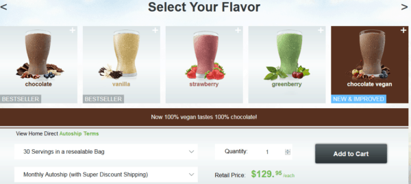 How to order Shakeology