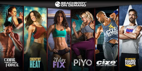 Get access to 600+ workouts with Beachbody on Demand!