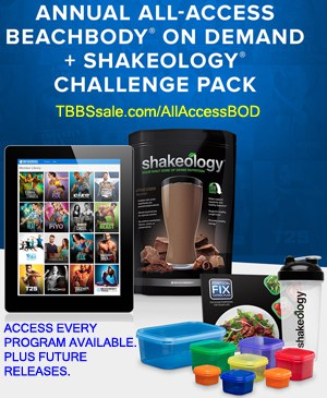 Annual All Access Beachbody on Demand