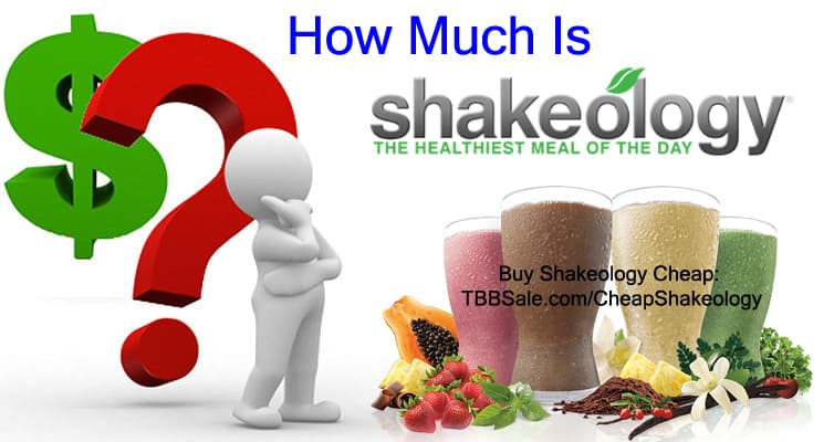 how much is shakeology