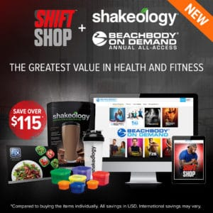 Order Shift Shop Challenge Pack with Beachbody on Demand Annual-Access