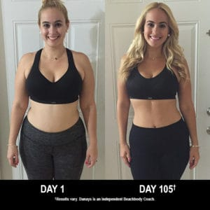 Danays Gonzalez lost 31 lbs. in 105 days with 21 Day Fix and Shakeology.