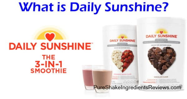 what is daily sunshine? the ingredients reviewed