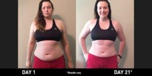 I lost 21.5 lbs in 21 days with Ultimate Reset and Shakeology