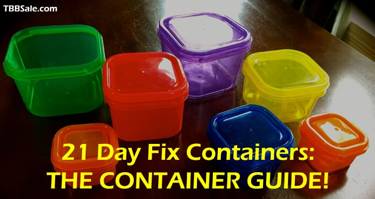 21 Day Fix Container Sizes